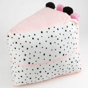 Cake Pom Pom Soft Decorative Plush Throw Pillow